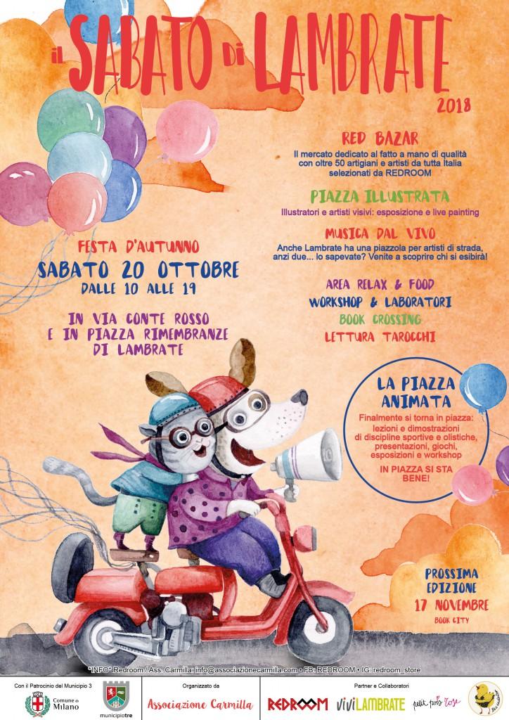 locandina 20 ottobre 2018